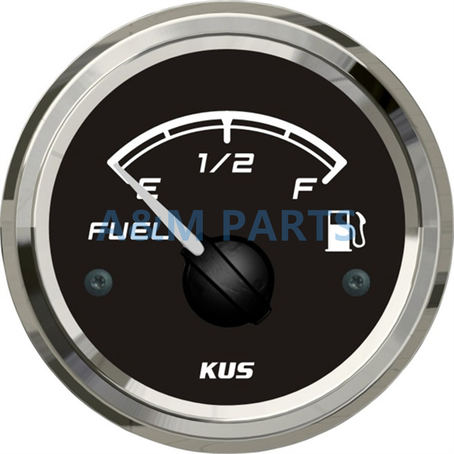 KUS Marine Boat Fuel Level Gauge Truck Car RV Waterproof Fuel Tank Indicator 12V/24V 52mm 0-190ohms датчик kus 12v 24v