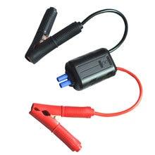 Интеллектуальные Зажимов Типа «Крокодил» 400A Smart Соединительные Кабели 10 дюймов Замена Booster Зажим Провод для Автомобиля Батареи, Начиная