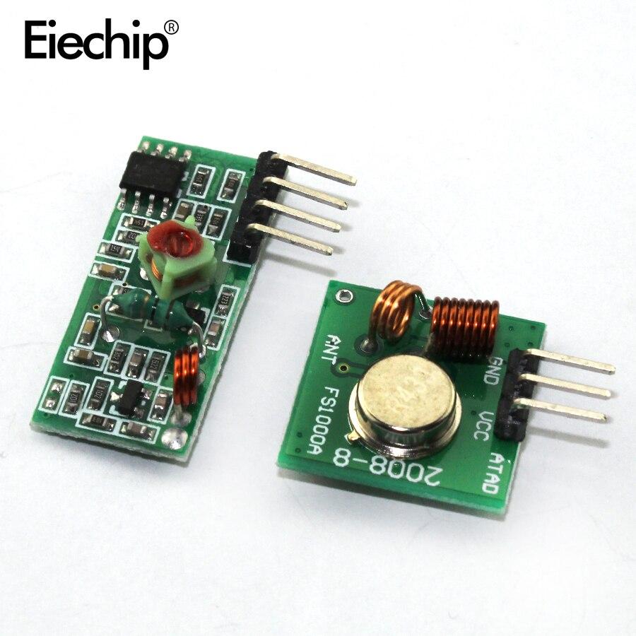 1 пара 315/315 мгц радиочастотный передатчик и приемник модульный комплект для Arduino /ARM/MCU WL diy 433/МГц беспроводной стартовый комплект DIY