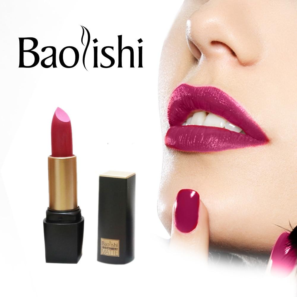 baolishi Nouvelle Marque Rouge À Lèvres Sain Hydratant Doux Lèvres - Maquillage - Photo 1