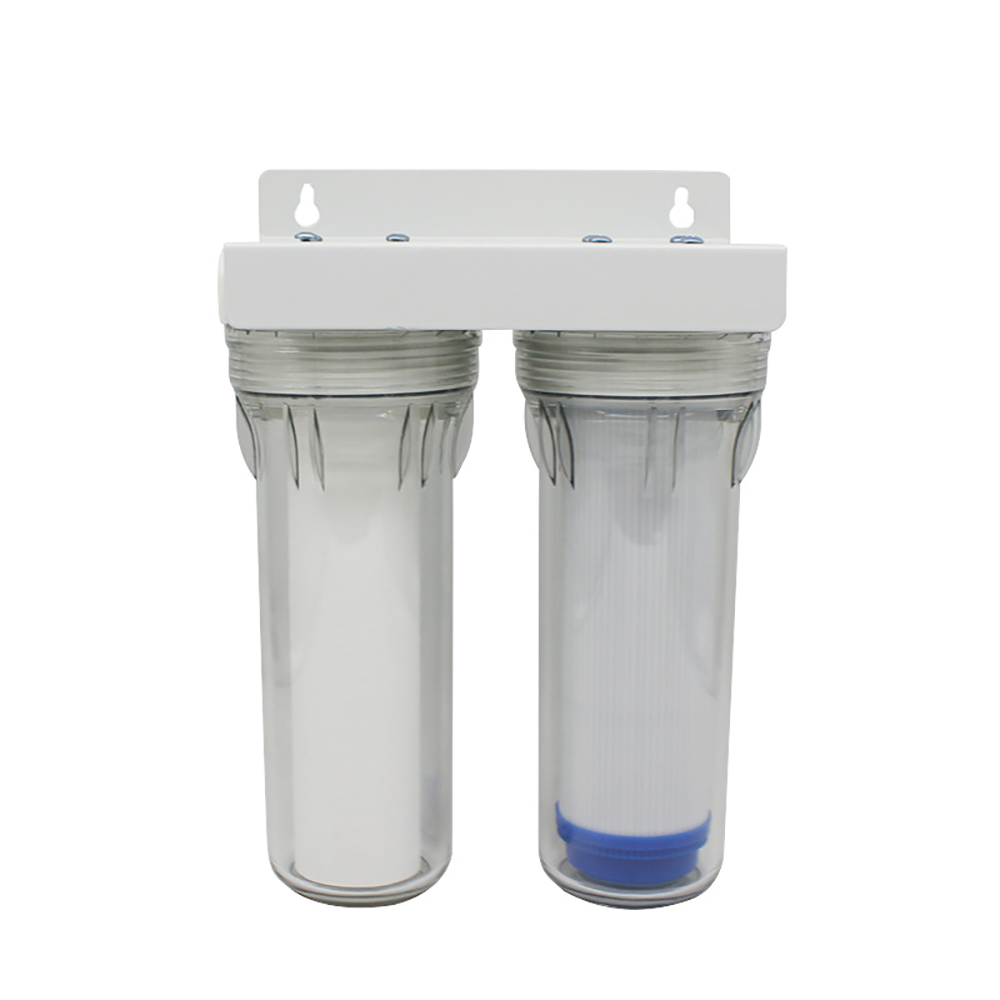 Water Purifier 2 Stage Filter Cartridge PP UDF GAC system Water Filters For Household straight drinking water purifier