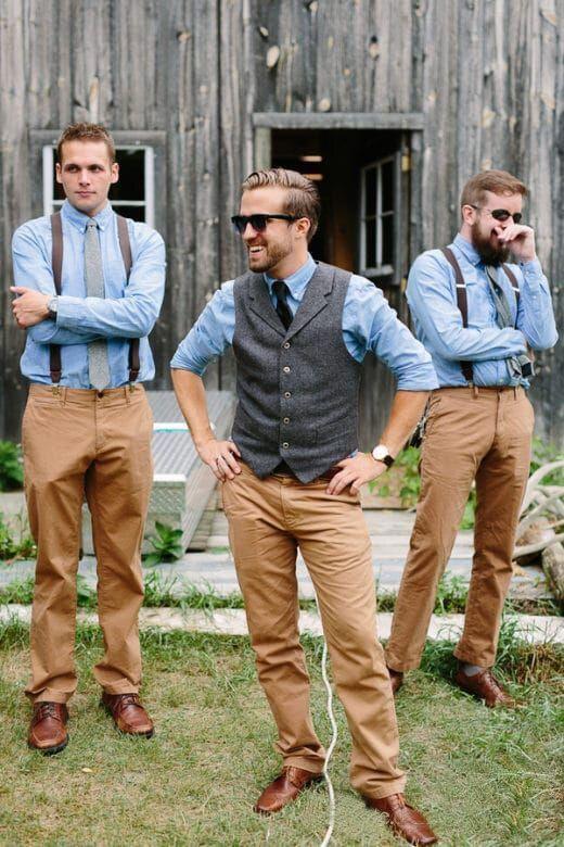 Rustique mariage hommes gilets vêtements d'extérieur Tweed Groomsmens gilets sur mesure Slim Fit hommes col en V gilets soirée bal hommes gilet gilet