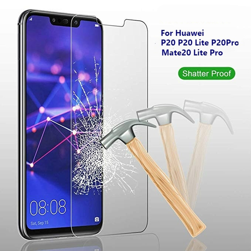 Tempered Glass Screen Protector For Huawei P20 Pro P30 Mate 20 10 Lite Protect Film For Honor 10 20 Full Cover Screenprotector