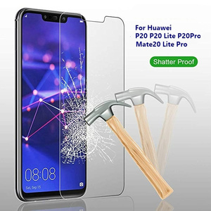 Tempered Glass Screen Protector for Huawei P20 Pro P30 Mate 20 10 Lite Protect Film for Honor 10 20 Full Cover Screenprotector(China)