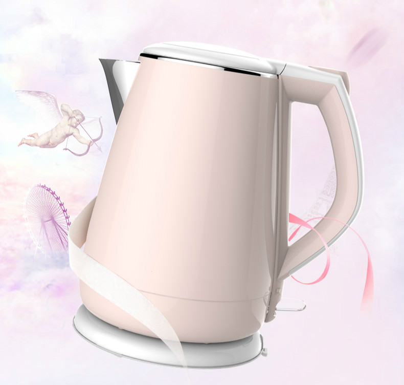 Electric kettle household 304 stainless steel insulation automatic power cutElectric kettle household 304 stainless steel insulation automatic power cut