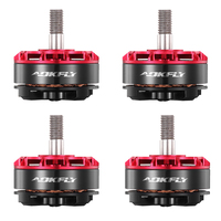 2205 Motor FR Series 2205 Pro Brushless Motor 2450KV/2650 Black/Red for QAV FPV Quadcopter Racing Drone RC Model Toys 4pcs/pack