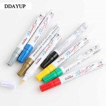 8 цветов Ручка для рисования граффити ремонт шин художественные