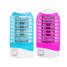 Electronic Mosquito Killer Lamp LED Mini Sensor Night Light 110V- 240v Range Pest Bug Reject Mole Repeller Night Lamp Zapper