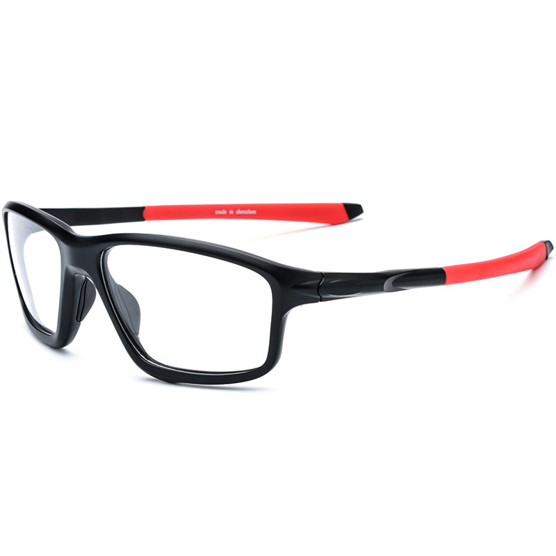 8bd2e1f33f9 Cubojue TR90 Sports Glasses Frame Men Women Eyeglasses Man s Optic Prescription  Spectacles Anti Slip Clear Lens