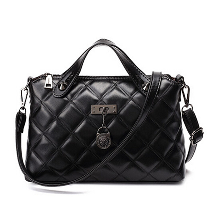 Online Buy Wholesale black quilted leather tote bag from China ...