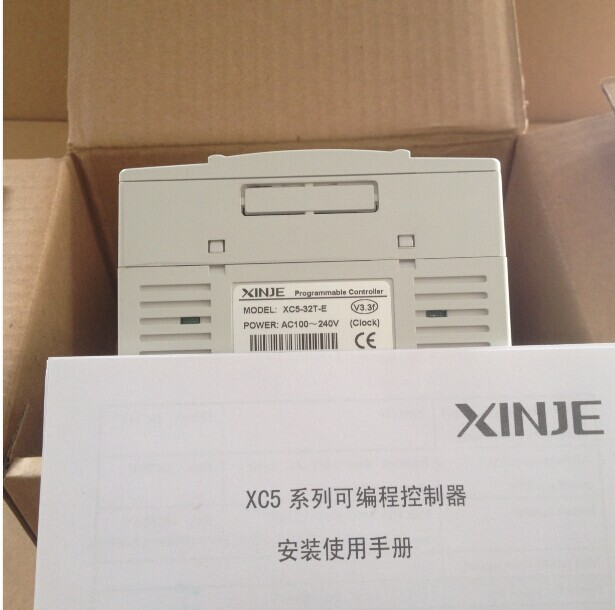 free shipping PLC XC5-32T-E 18-point NPN Inputs for Xinje XC5 Programmable Controller 14-point Transistor Outputs AC220V 6es7284 3bd23 0xb0 em 284 3bd23 0xb0 cpu284 3r ac dc rly compatible simatic s7 200 plc module fast shipping
