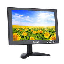 Eyoyo IPS 1920*1200 10″HD LCD VGA Video Audio HDMI Monitor BNC USB With Remote HDMI Cable With Speakers For CCTV DVR FPV Camera