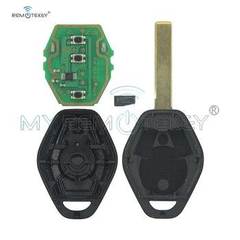 Remtekey リモートキー HU92 3 ボタンと 44 チップ 434 用 BMW 3 5 シリーズ EWS システム車のキー