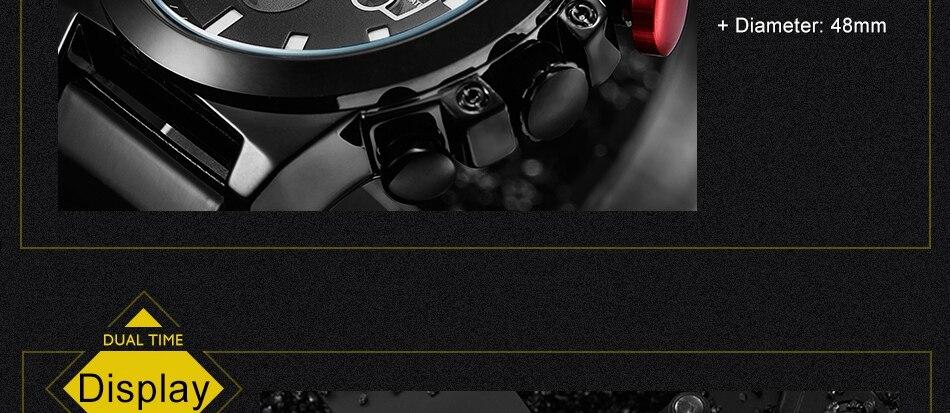 HTB1FyTSk9tYBeNjSspkq6zU8VXaB SINOBI 2020 Men Wrist Watches LED Chronograph