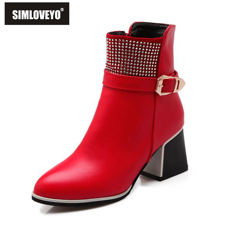 Compare Prices on Red High Heel Boots- Online Shopping/Buy Low ...