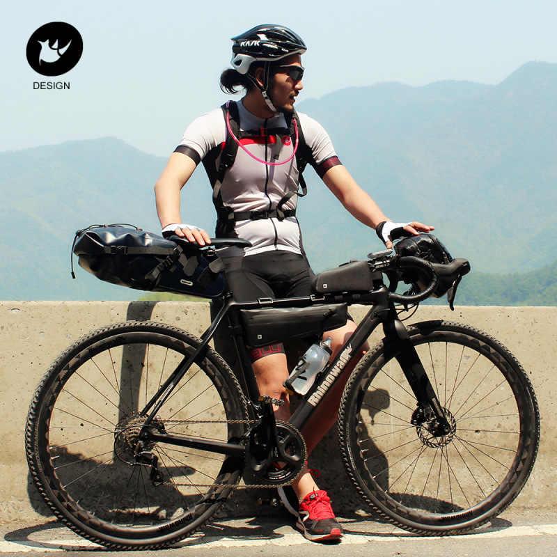 S-TROUBLE Borsa per Bici Rhinowalk Borsa per Bici Borsa per Bici Borsa per Telaio Bici Borsa per Telaio Bici Impermeabile e Stabile Borsa per Bicicletta Accessori da Ciclismo Professionali
