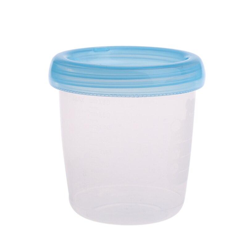 180ML Bear Breast Milk Storage Bottle Collection Neck Wide Feeding Fresh Cup New