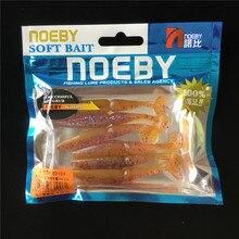 Noeby 36pcs soft lure 7.5cm 3.2g Artificial Soft bait Carp Crankbait Fishing accessories silicone bait Swimbaits Fishing Lure