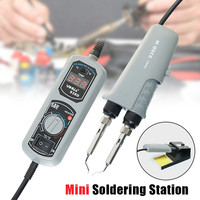 110V/220V EU/US/UK PLUG 938D Portable Hot Tweezers Mini Soldering Station Hot Tweezer For BGA SMD Repairing