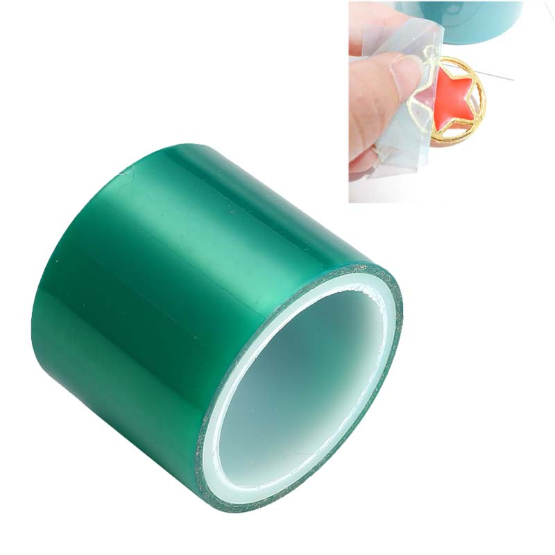 DIY 1 Roll Seamless Paper Tapes 4cmx5m For Metal Hollow Frame Expoy UV Resin Craft Open Bezel Setting Helper Tool Pendants