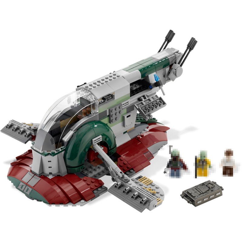 LEPIN 05037 Star 2067pcs Series Wars UCS Slave NO.1 Model Building Blocks Bricks Kits Compatible 75060 Toy Gift For Children цена