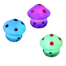 Mushroom Shaped LED Novelty Lamp Night Light Colorful Changing Colors CLH For children Gift bedroom decoration