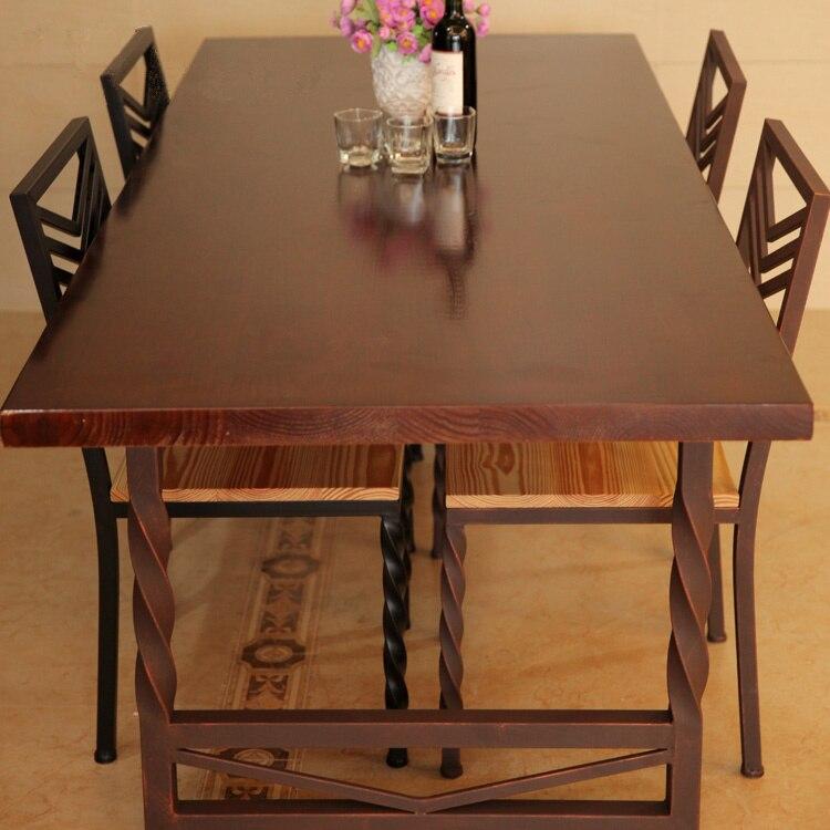 Aliexpress.com: comprar costumbre europea de madera maciza mesa de ...
