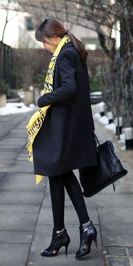 Coreana Selvaggio Casuale 2018 Signore Delle Slim Piccolo Sezione Inverno Moda Nuova Primavera 1 Sottile Lunga Vestito Donne Autunno Femminile CSwT6wqX