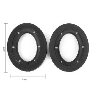 Image 2 - 1 Pair Replacement Ear Pads Cushion For Hyper*x Cloud Revolver S Gaming Headset