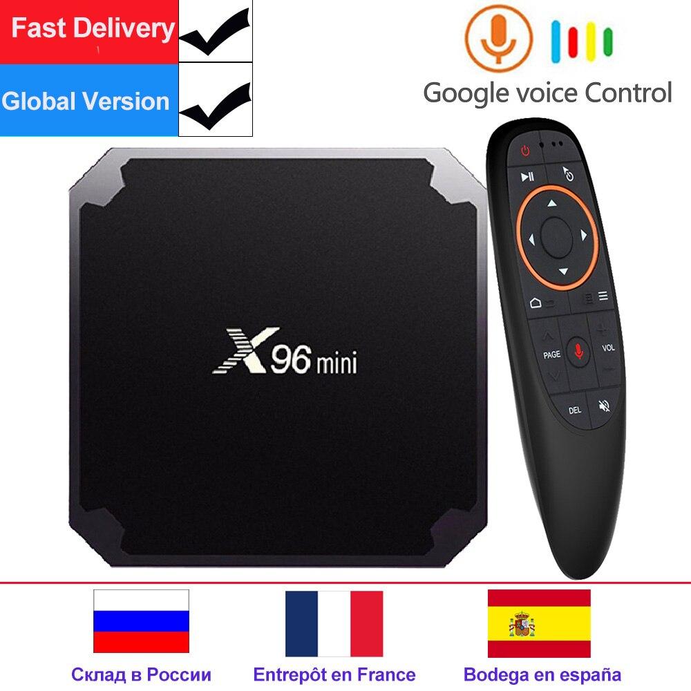X96 mini X96mini Android 7.1 Smart TV BOX 2 GB/16 GB TVBOX X 96 mini Amlogic S905W H.265 4 K 2,4 GHz WiFi Media Player Set-Top-Box