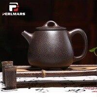 350 мл Аутентичные Исин Чай горшок высокой камень совок горшок Ши Бяо Чай Maker китайский здоровья фиолетовый глины ручной Zisha чай горшок Чай ware