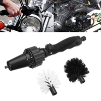 1PCS Car Truck Motorcycle Bicycle Care Water Driven Rotating Washing Cleaning Brush Nonslip