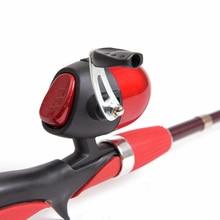 New Telescopic Fishing Rod Combo 1.4 M Ice Fishing Rods + Closed Fishing Reel Lure Pesca Fishing Tackle Set