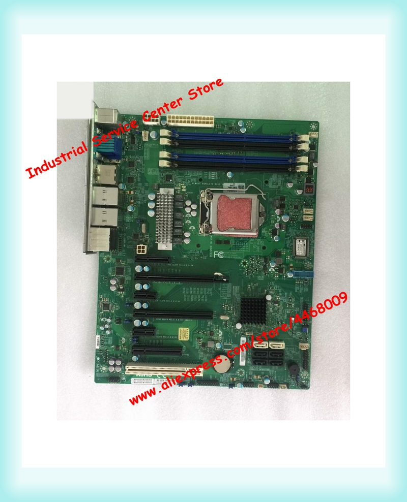 1.01A INTELC216 chip Industrial equipment motherboard X9SAE REV