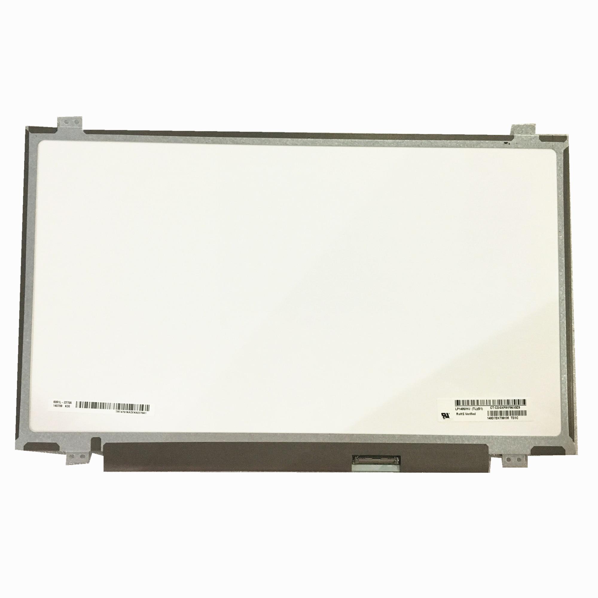 Free shipping LP140WHU TLB1 M140NWR1 R0 N140BGE L33 N140BGE L43 N140BGE LA3 14 0 inch Laptop