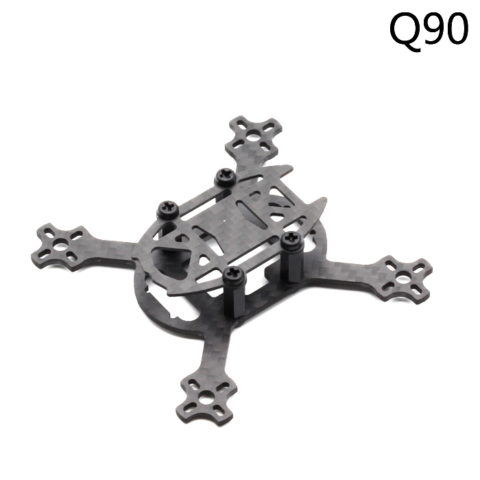 Q90 90mm Micro Brushless Quadcopter Drone Carbon Fiber For 1104 <font><b>1103</b></font> <font><b>Motor</b></font> FPV Blade Inductrix Tiny Whoop image