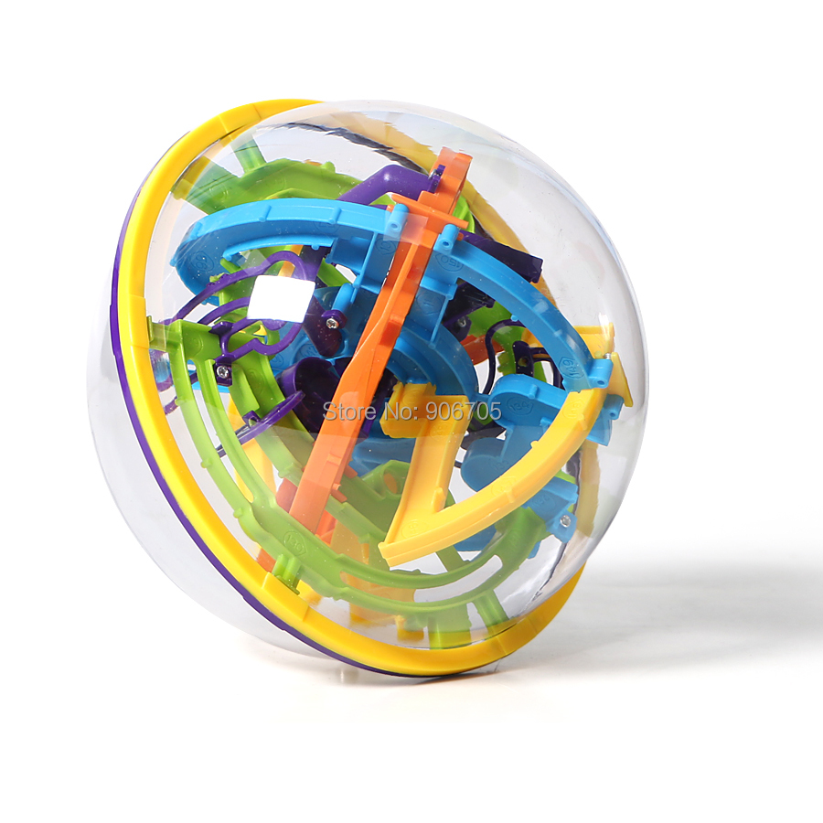 US $12 69 39% OFF|Aliexpress com : Buy 158 Steps 3D Magic Intellect Ball  Marble Puzzle Game perplexus magnetic balls IQ Balance toy,Educational