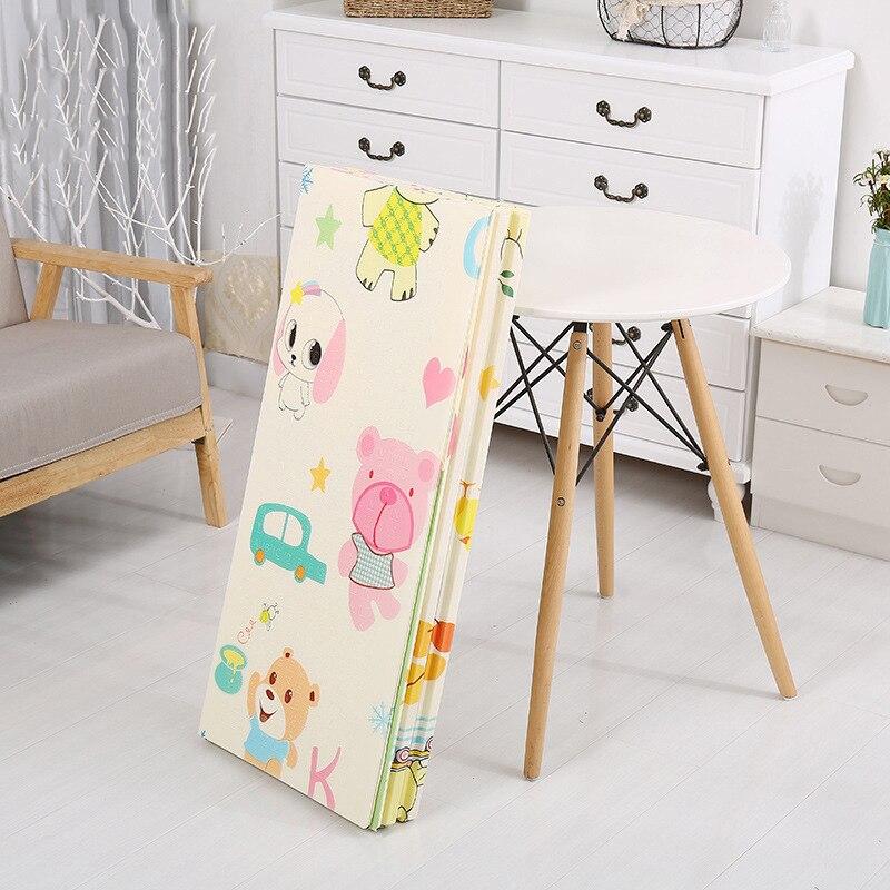 2 M XPE enfants tapis doux bébé tapis de jeu enfants tapis de jeu animaux tout Rectangle dessin animé infantile jeu ramper pliant Pad