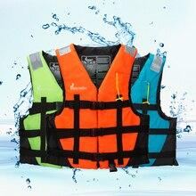 Los niños Chaleco de rescate chaqueta silbato de natación para adultos niños  la vida a la deriva el bote de rescate de pesca seg. 3b672b19bb85