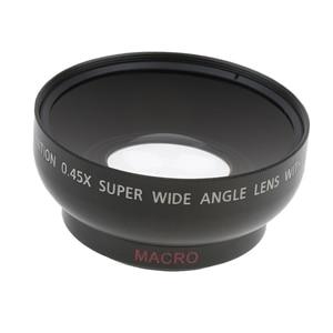 Image 5 - 43 مللي متر 0.45x زاوية واسعة عدسة مع ماكرو لكانون نيكون سوني بينتاكس 52 مللي متر موضوع DSLR كاميرا