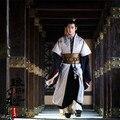 Envío gratis Royal emperador Chino emperatriz traje tradicional Antigua etapa vestido de bata de satén de seda bordar Vestido de traje de la reina