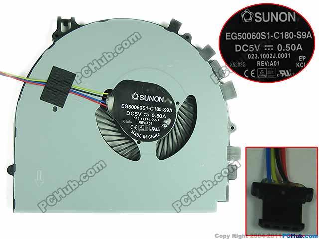 SUNON EG50060S1-C180-S9A, 023.1002J.0001 DC 5V   Server Laptop Fan доска для объявлений dz 5 1 j9c 037 jndx 9 s c