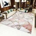 Креативные скандинавские ковры для гостиной  дивана  журнального столика  ковер для дома  спальни  декоративный коврик для учебы  мраморные ...
