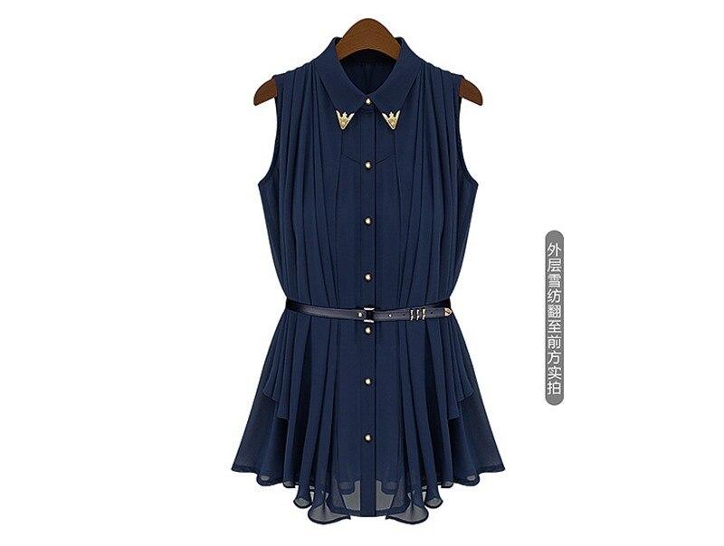 vestidos de fiesta Womens Chiffon Cloak Blouse Shirts Tops Elegant Navy Blue Beige Chiffon Cloak Sunscreen Tops Ladies Fashion  (22)
