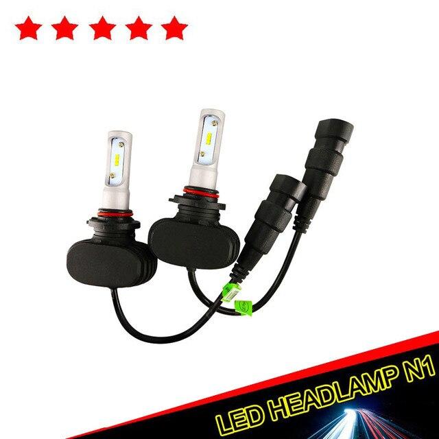 1pcs 50W 8000LM LED Car Headlight H/L Beam Car motorcycle LED Headlight Kit 12V H4 H7 H11 9005 6000K LED Headlamp Bulbs Kit