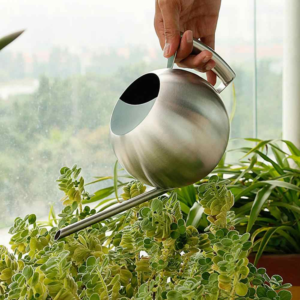 1l Stainless Steel Long Spout Watering