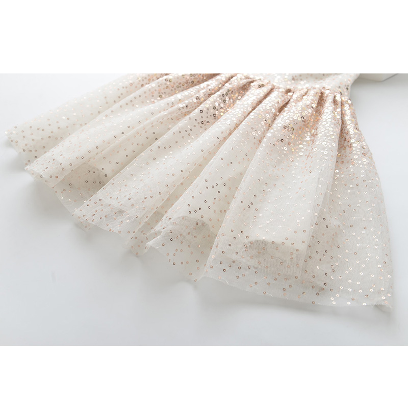 Image 5 - LOVE DD&MM Girls Dresses 2020 Summer New Childrens Wear Girls Fashion Gradient Sequins Mesh Sleeveless Sweet Princess DressDresses   -