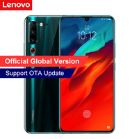 Global Version Lenovo Z6 Pro 8GB+128GB 6.39inch Snapdragon 855 Mobile Phone 4000mAh 48MP Quad Cameras 4K Video 4G Smartphone Lenovo Phones