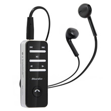 Wholesale Bluedio i4 Universal Bluetooth v3.0 stereo in-ear Headphone for iPhone Samsung Android (BLACK)