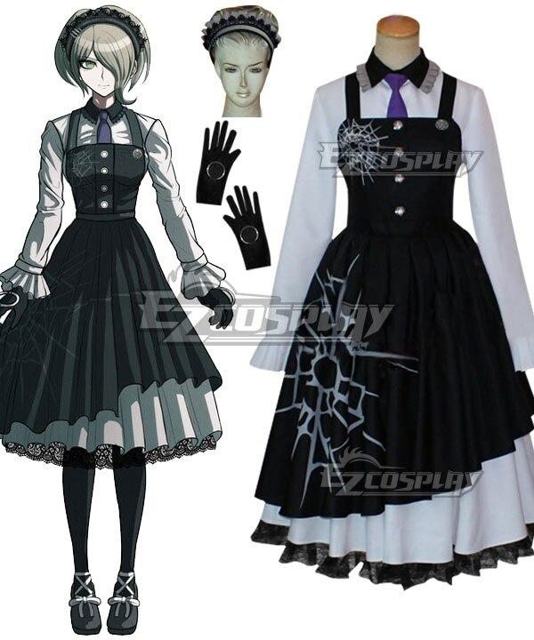 Здесь продается  Danganronpa V3: Killing Harmony Kirumi Tojo Cosplay Costume E001  Одежда и аксессуары